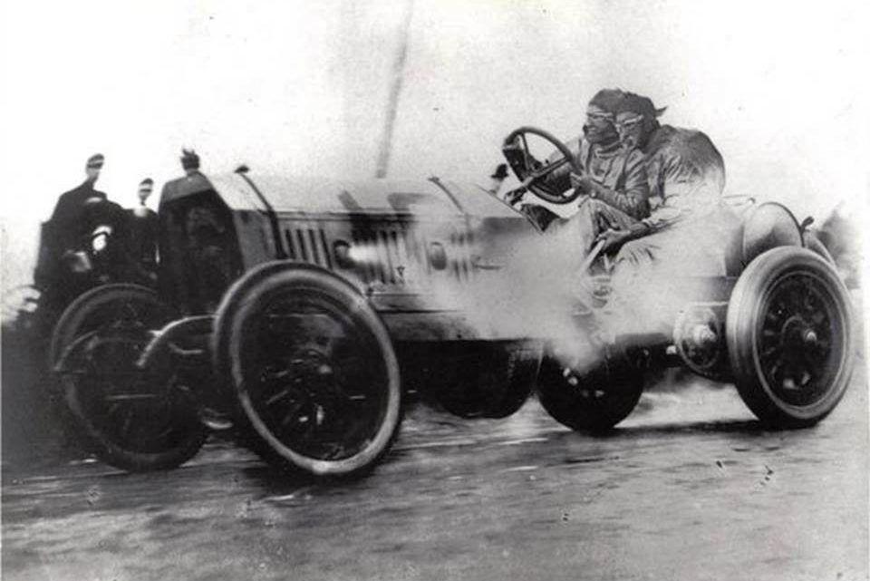 1908. Ford Locomobile Old 16 Race Car | Así Sucedió | Typ ...