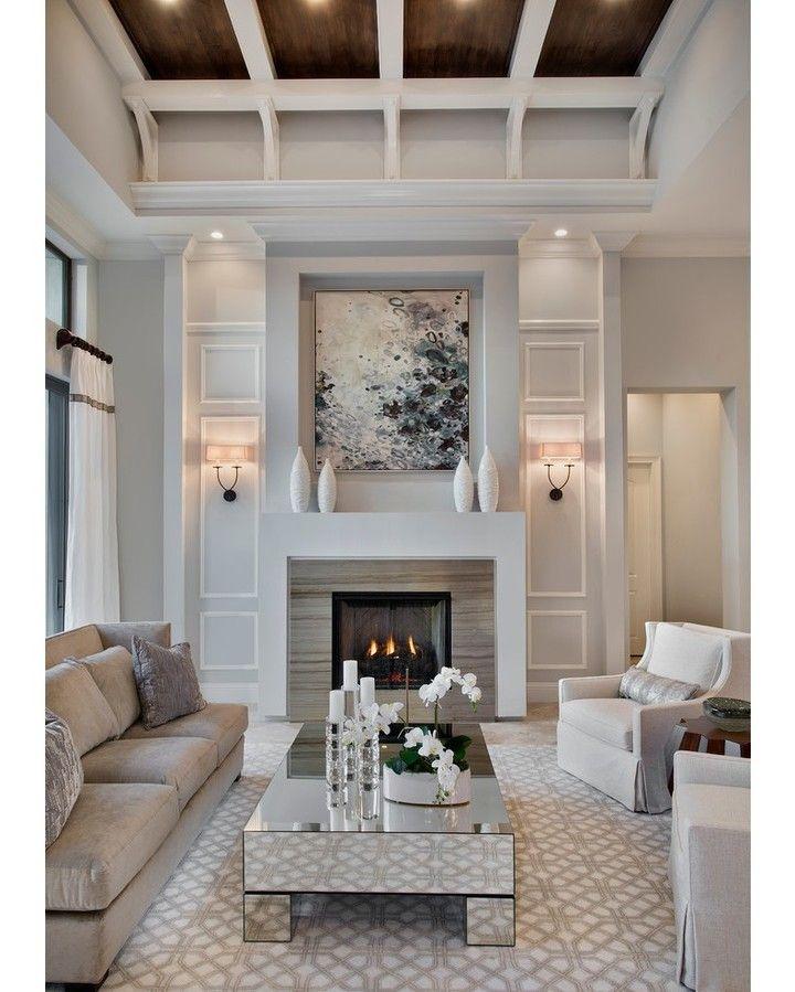 Living Room by Weber Design Group  #weberdesigngroup #giovanni #miami #transitional #livingroom #interior #interiors #interiordesign #design #architecture @homeadore