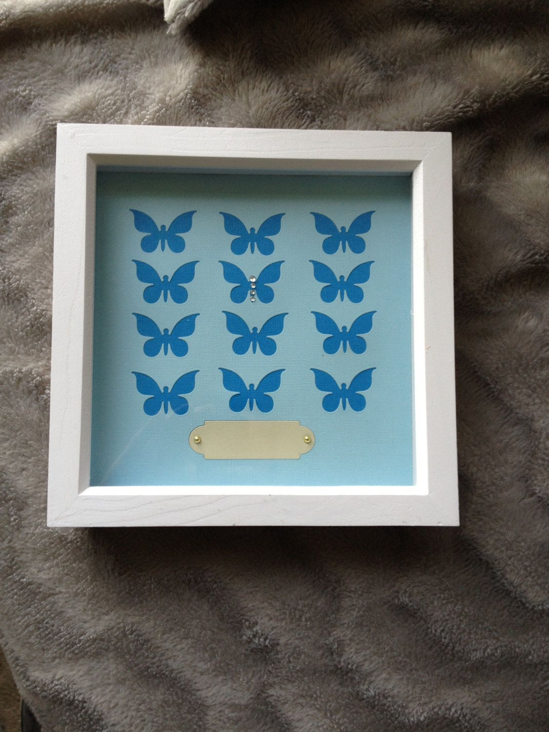 12 die cut butterfly with gems name plate box frame design by 12 die cut butterfly with gems name plate box frame design by designsbytiggik on jeuxipadfo Images