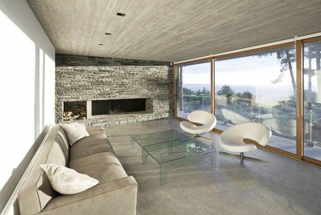 Wohnzimmer skandinavischer Stil Wohnideen Design schön ...