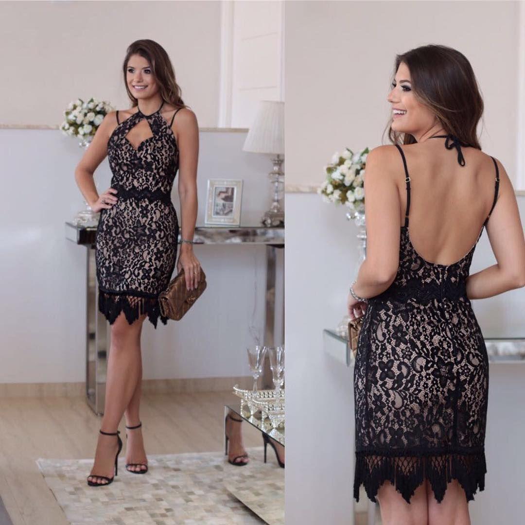 """c7dad64fe Vestidos ❤ no Instagram: """"vende na @danielaklaus lá vocês vão encontrar  vestidos lindíssimos para várias ocasiões 😍😍😍Elas enviam para todo o  Brasil e ..."""