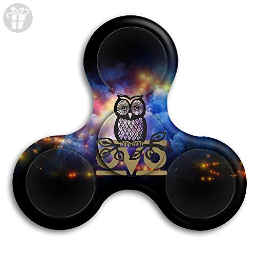 Owl OVO Tri Spinner Hand Fid Stress Reducer Finger Toy Gyro For