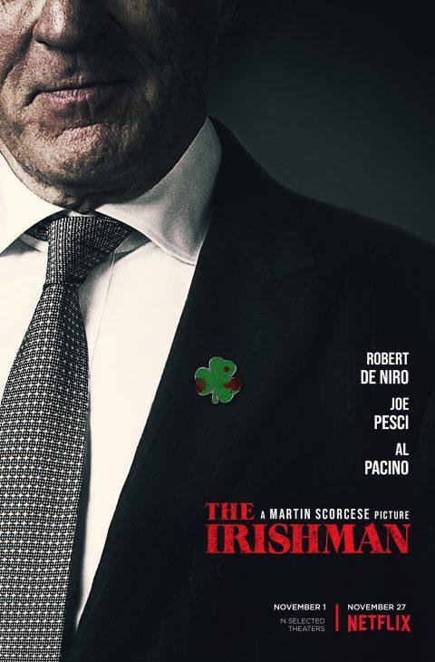 The Irishman Movie Martin Scorsese Robert De Niro Silk Canvas Poster 24x36 inch