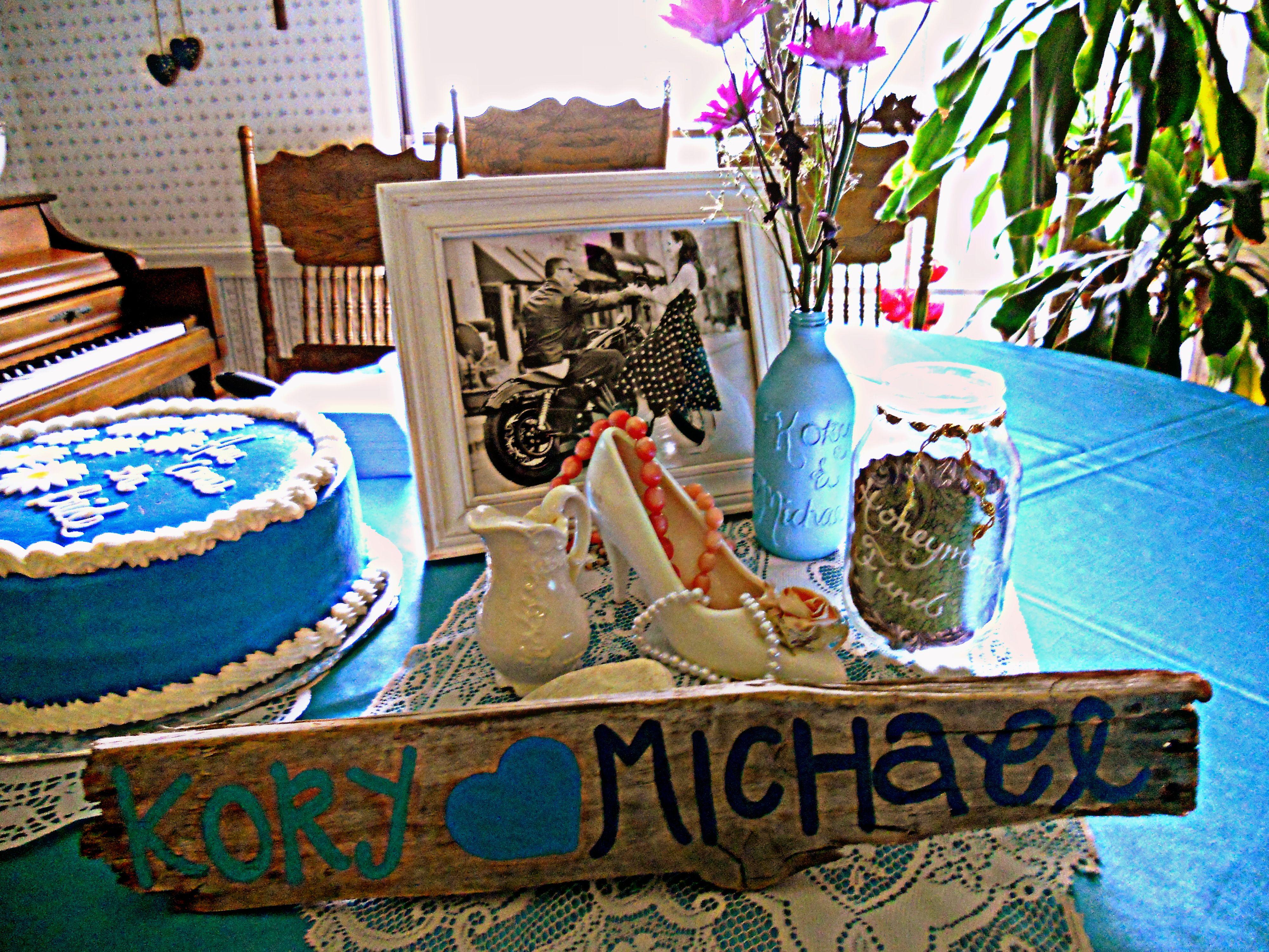 Bridal shower decorations <3
