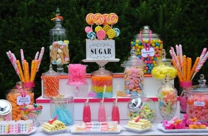 boys candy birthday party - Google Search