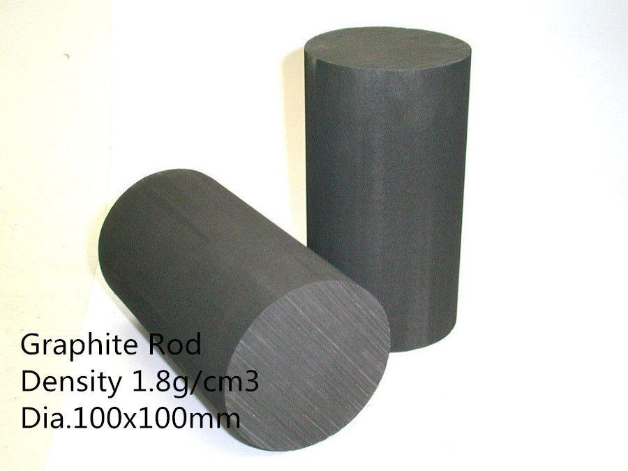 Dia100 100mm Graphite Rods Pure Graphite Structure Carbon Rods Pure Graphitized Carbon Copper Tubing Graphite Pure Products