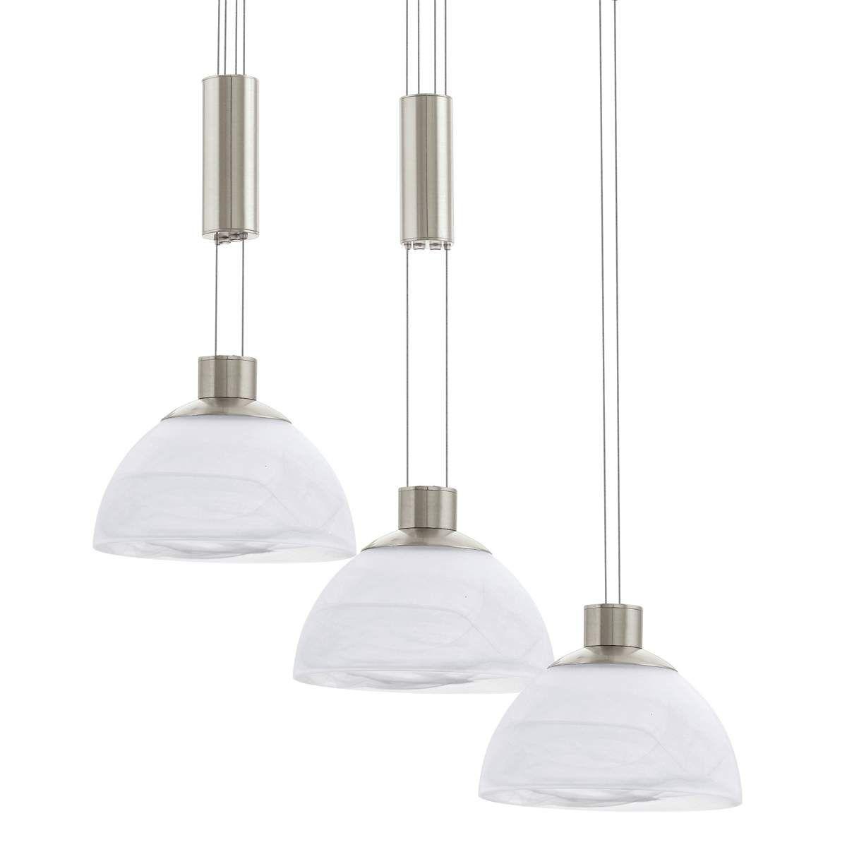lampenschirme aus glas für pende   pendelleuchte grau matt