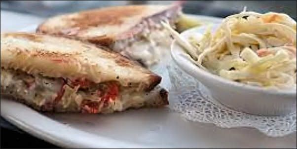 Heartless Artichoke Sandwich Seen On Triple D Tin Roof