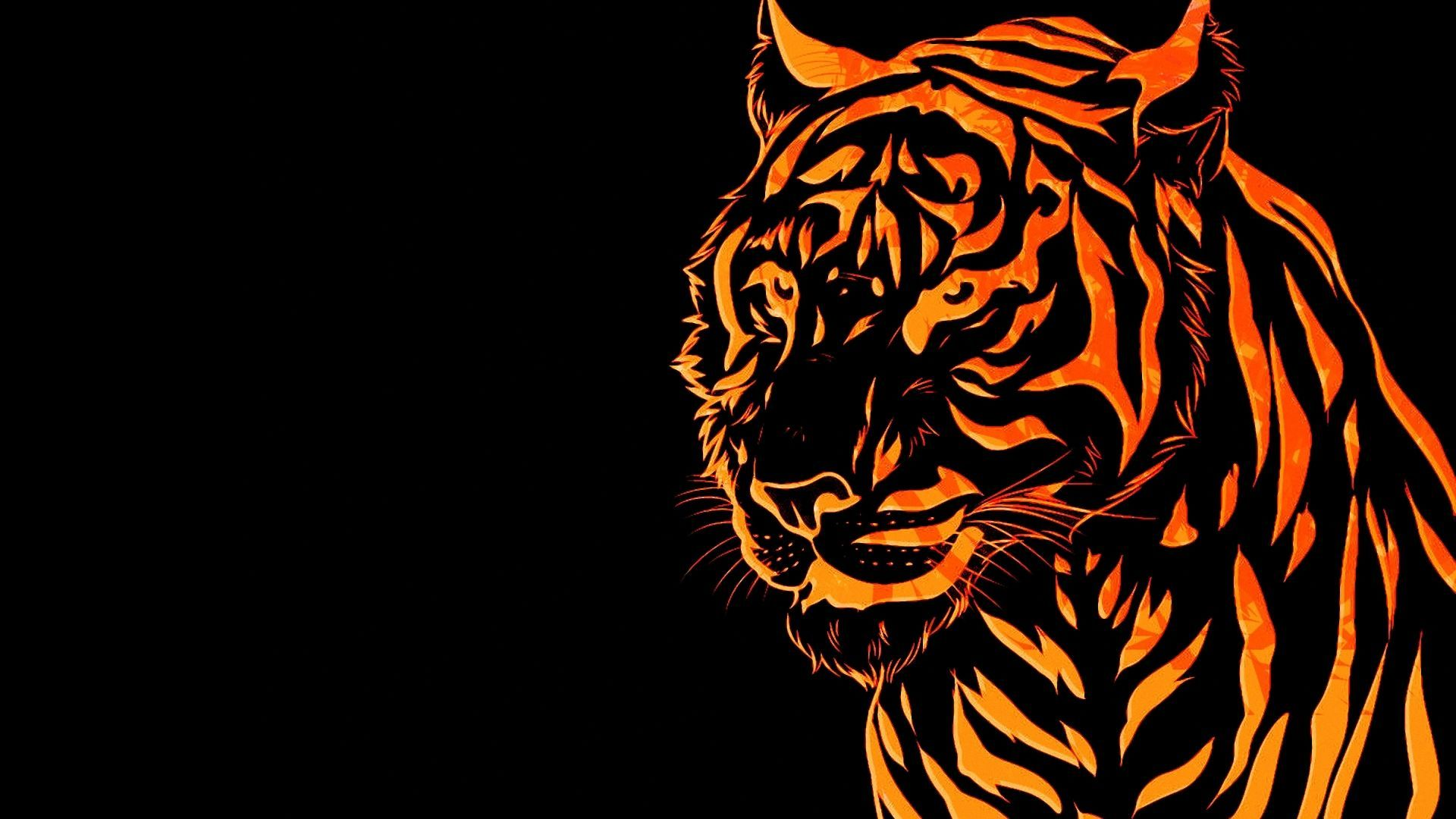 Abstract Tiger Wallpaper Free Download Hd Hd Wallpapers For Pc Wallpaper Pc Background Images Hd