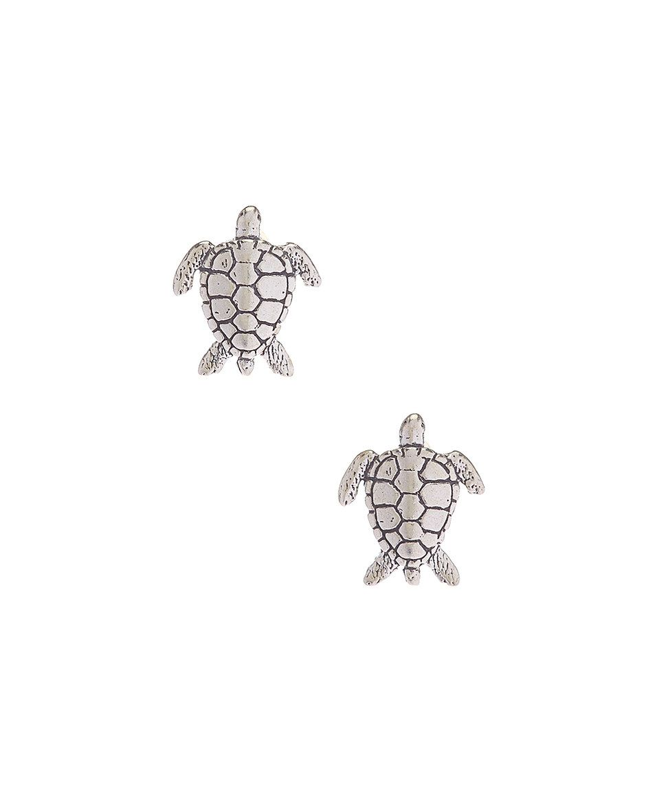 sea adorable cubic shop turtle embellished mini on earrings zirconia stud wanelo l