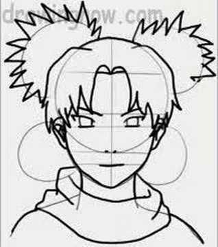 Learn To Draw Temari From Naruto Youtube Naruto Desenho