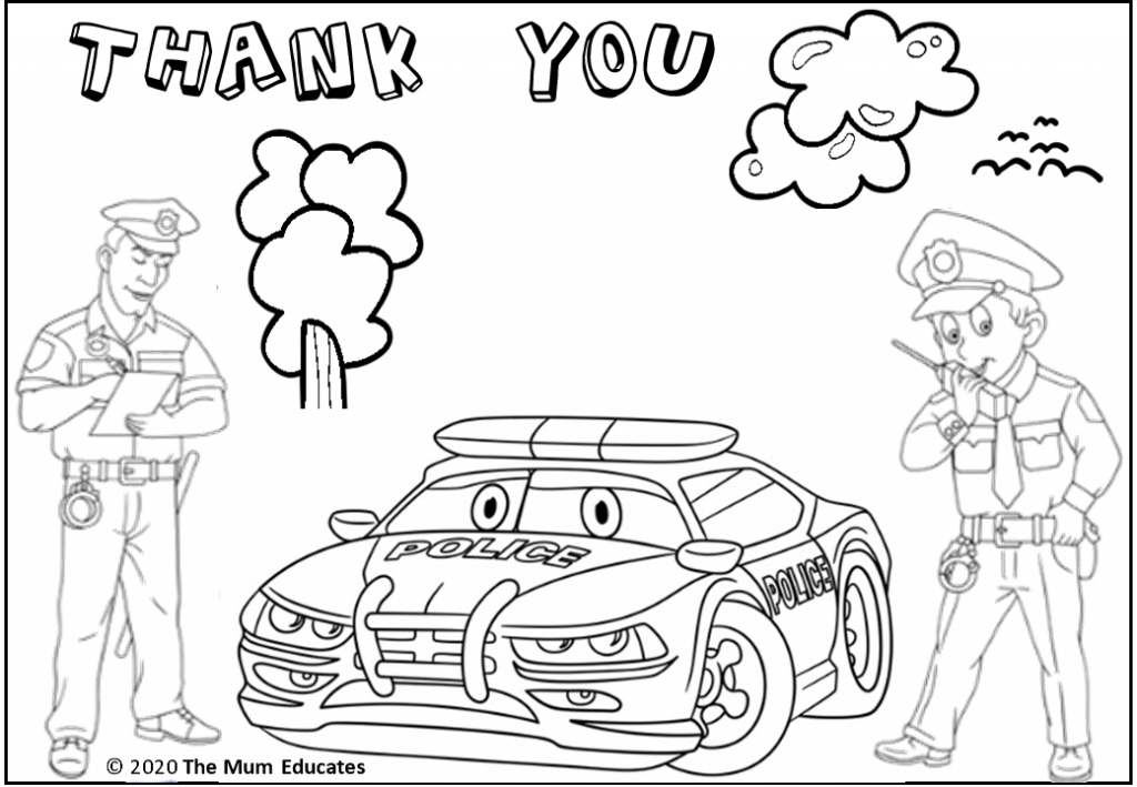 Thank You Key Workers Colouring Sheet Coloring Sheets Fun Activities For Kids Free Coloring Sheets