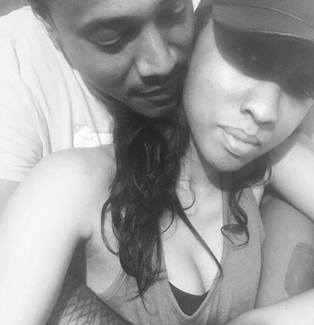 Siggy Jackson w/ fiancé Toyia