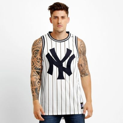 6b8a1d3ee Acabei+de+visitar+o+produto+Camiseta Regata New Era Mlb New York Yankees  Mesh