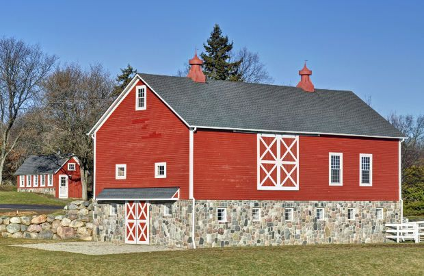 Barn Red Exterior