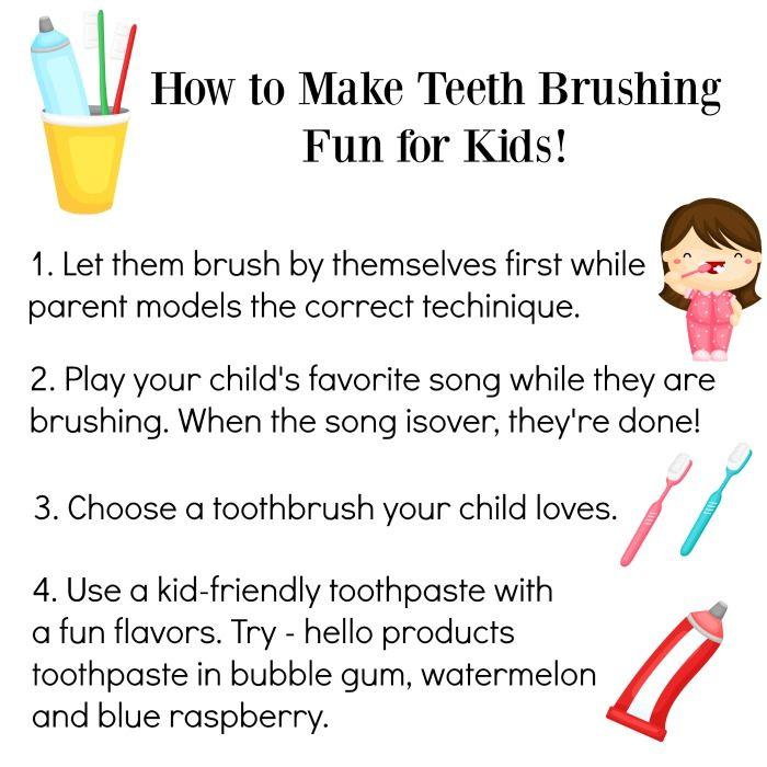 to Make Brushing Teeth Fun for Kids