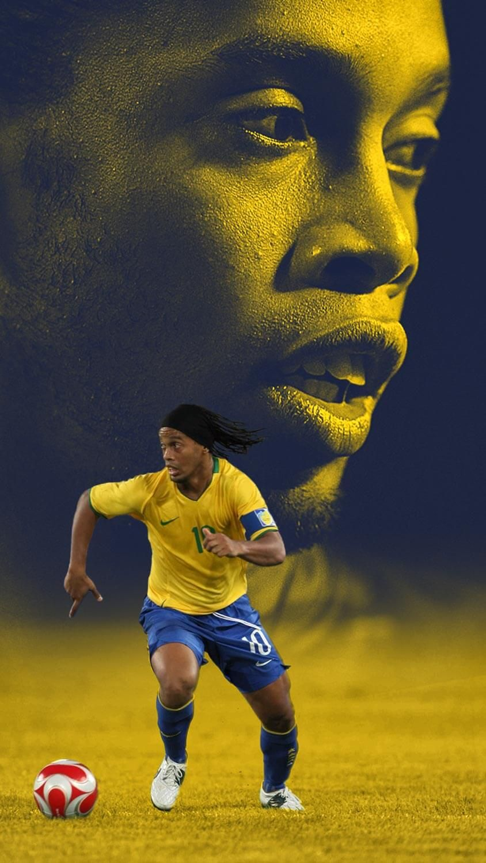Ronaldinho Wallpaper Imagens De Futebol Futebol Freestyle Cartaz De Futebol