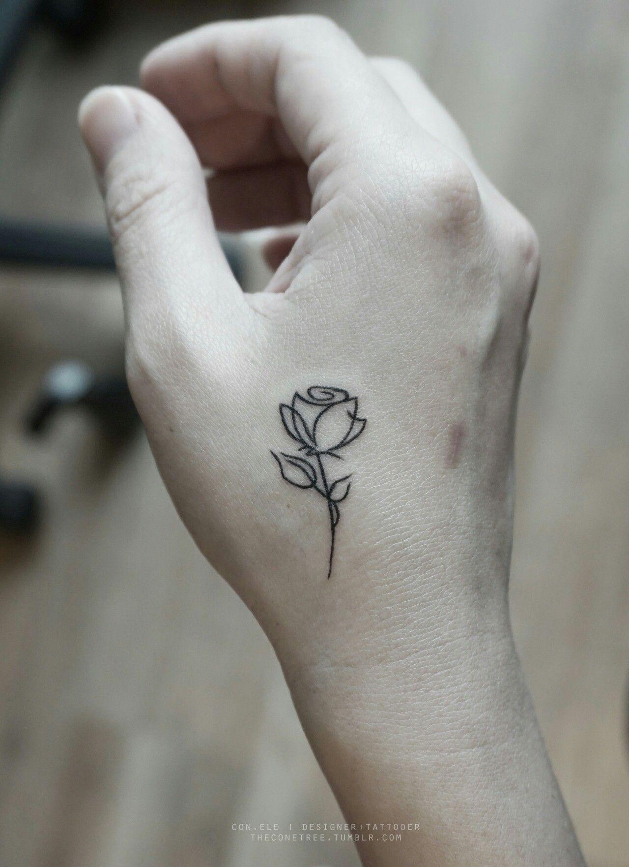 Pin By Tori Hivner On Tattoos Tatouage Tatouage Rose Petit Tatouage