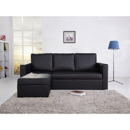 Slipcovers For Sofas THY HOM Saleen Bi cast leather Piece Sectional Sofa Bed with Storage