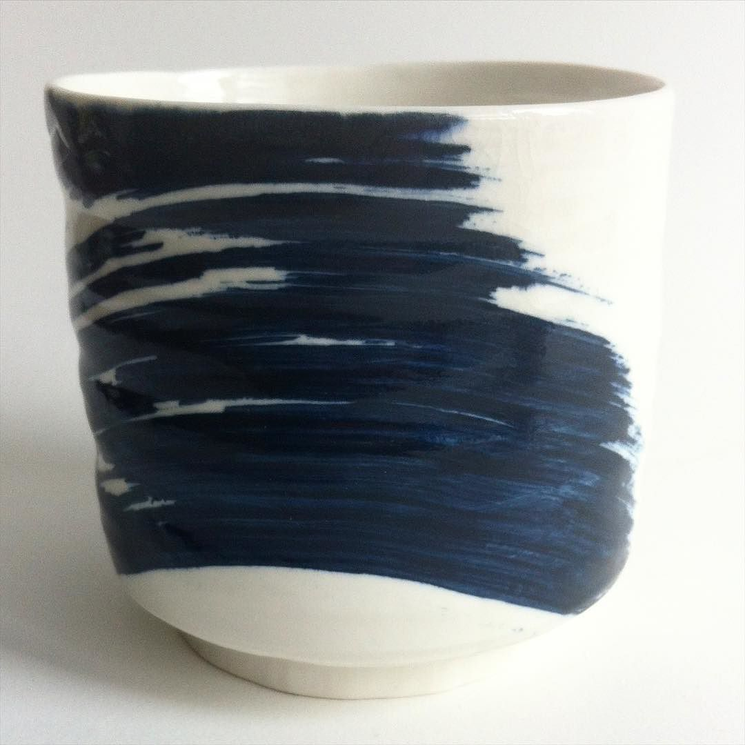 There was a moment when I let go of rigidity in pottery. For ages I had no understanding of the 'loose' style of those it turned out knew exactly what they were doing. It was only then I realised I had been painting 'loosely' for years and it was time to combine it with a gently emerging newly found flow in my ceramics. The lessons we learn are so small and so deep. by tom_kemp_