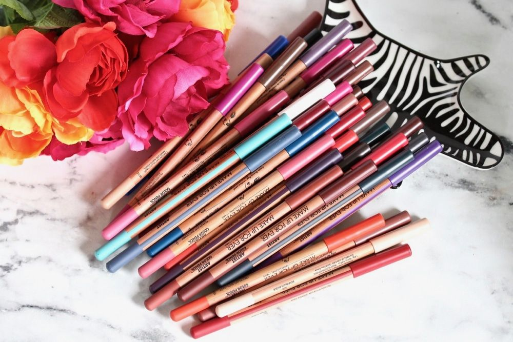 MAKE UP FOR EVER Artist Color Pencil Review and Swatches