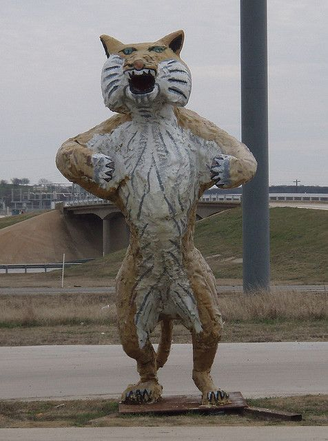 Itasca Wampus Cat Cat, Mythical creatures and High school
