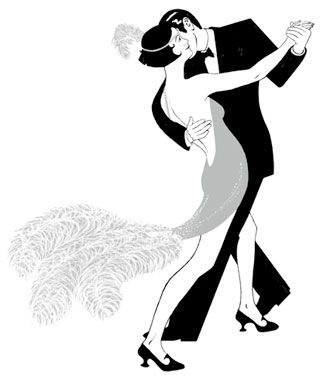 gallery for u003e roaring 20s clipart art pinterest roaring 20s rh pinterest com 1920s clipart borders 1920s clipart images