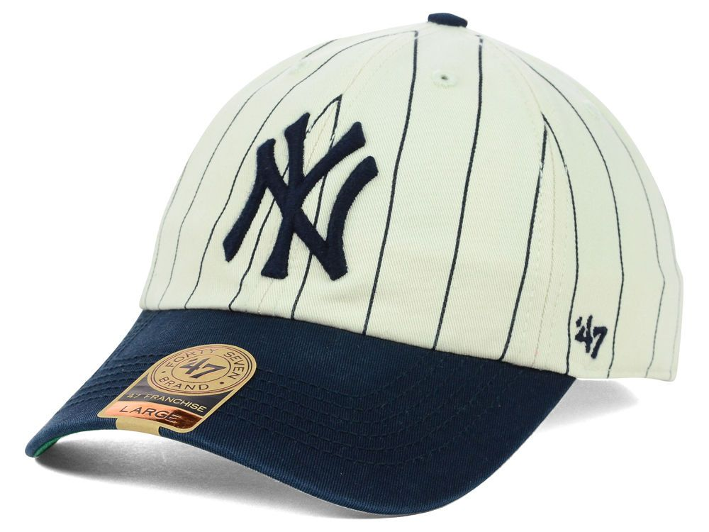 New York Yankees 47 Mlb Pinstripe 47 Franchise Cap Yankees Gear New York Yankee Hat New York Yankees