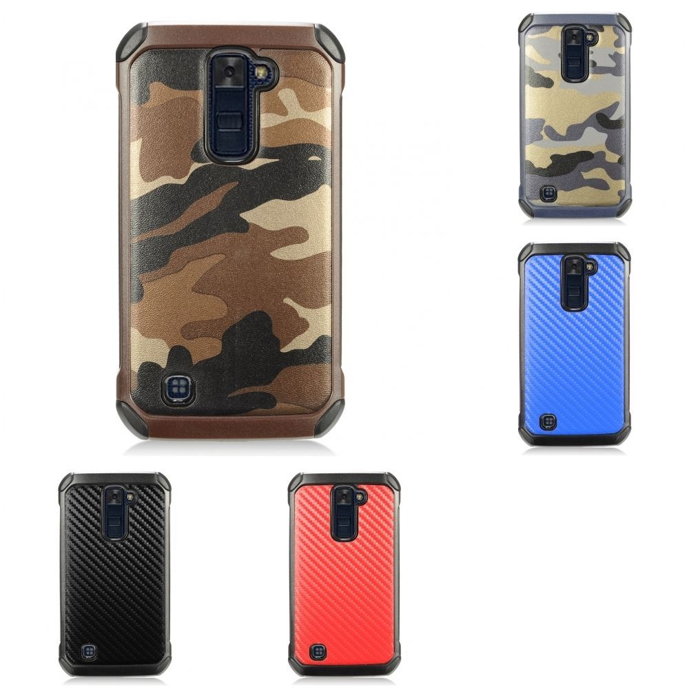 cheap for discount a47a0 298ca $4.49 - For Lg K10 Premier Lte Hybrid Slim Rugged Design Armor Touch ...
