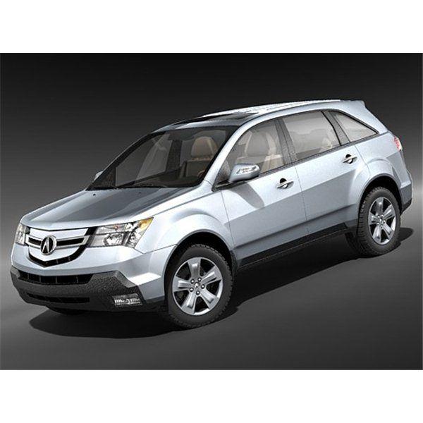 Acura MDX 2007-2010 - 3D Model