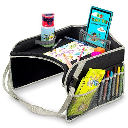 Kids Travel Tray Portable Car Seat Snacks Play Activity Desk For Toddlers