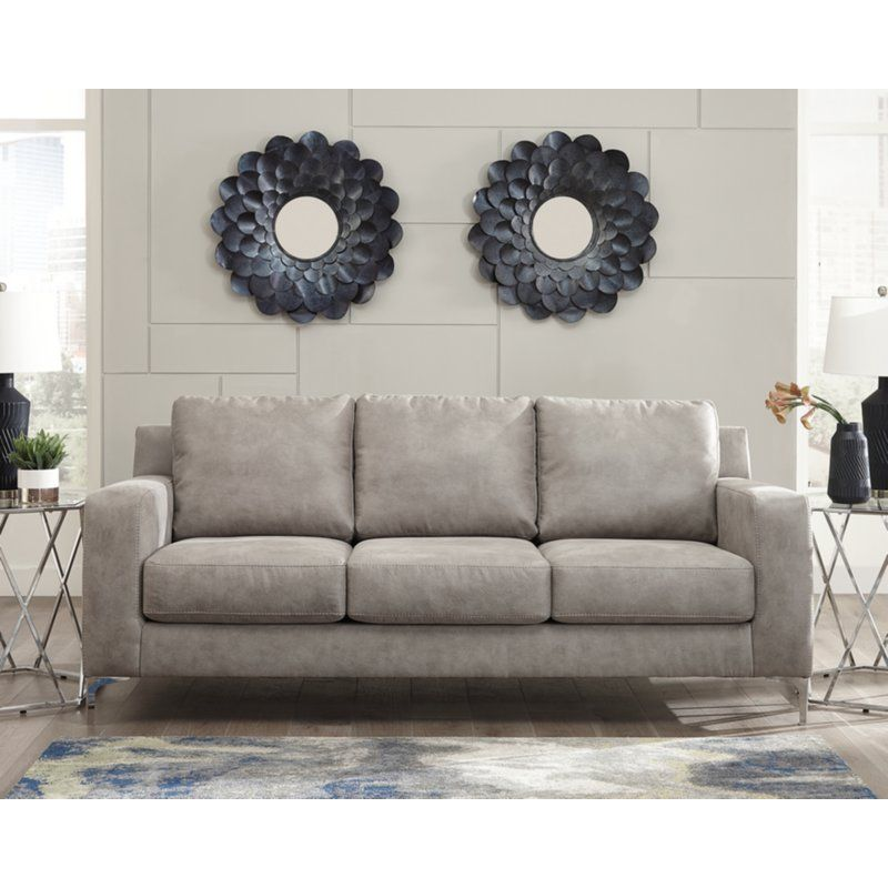 Isabelle Sofa Reviews Allmodern Ashley Furniture Steel Sofa
