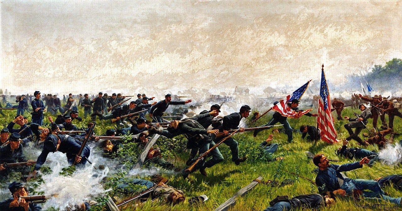 104th Pennsylvania At The Battle Of Seven Pines Fair Oaks