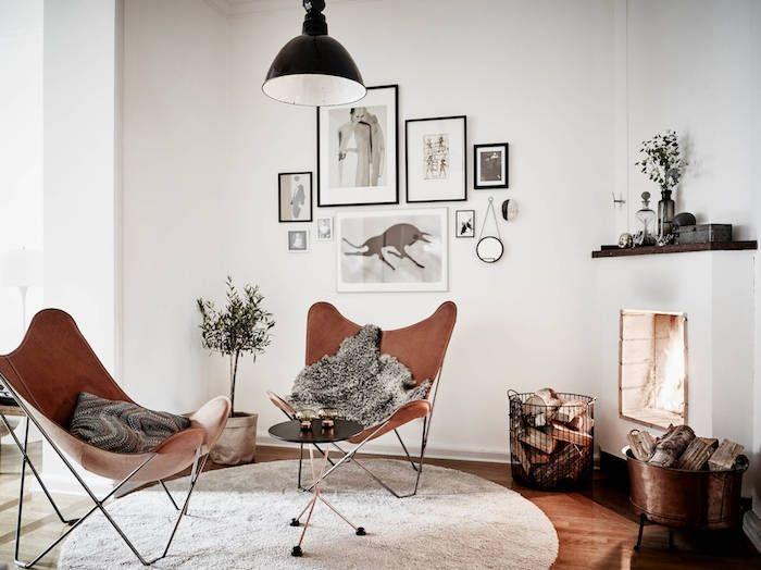 ▷ 1001 + photos et conseils d\u0027aménagement d\u0027un salon scandinave