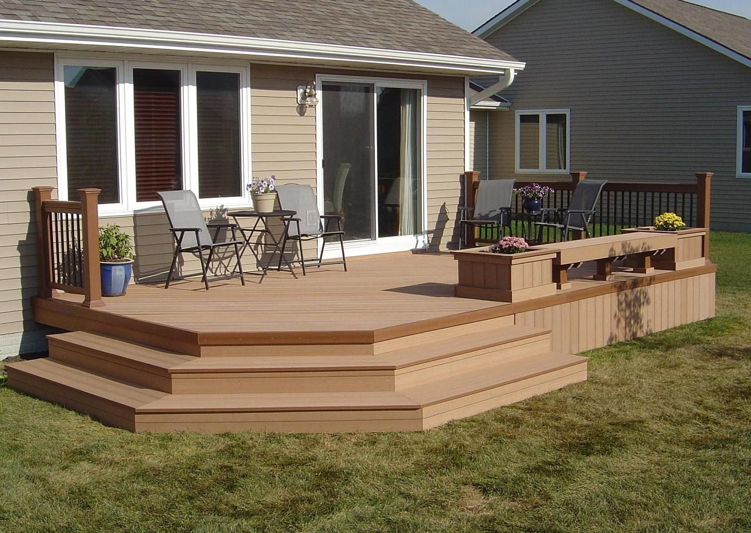Decking Supplies Sale Synthetic Wood Plastic Composite