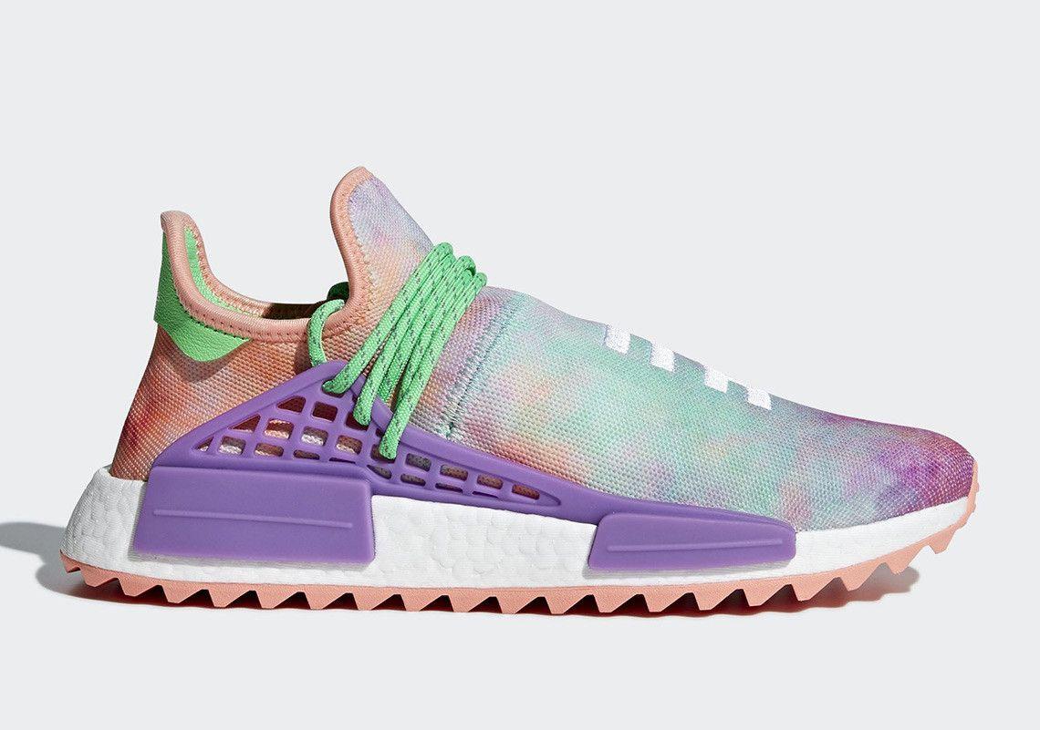 Donde comprar la Pharrell x Adidas NMD Hu polvo colorante Collection