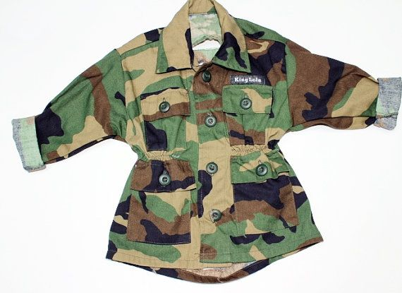 7c8c25b3e Best Baby Camouflage Toddler's Trench length camouflage jacket, camo ...