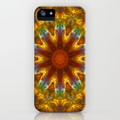Mandala - Calmness iPhone Case by Art-Motiva - $35.00
