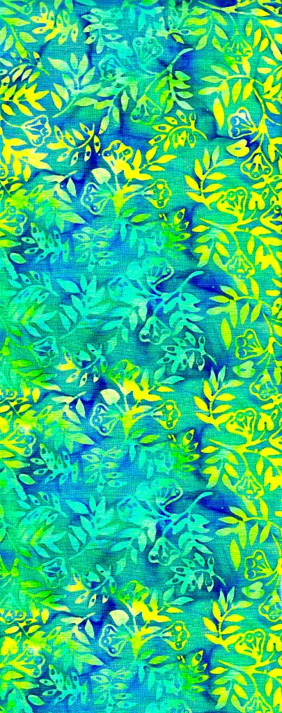 Batiks by Anthology Fabrics.