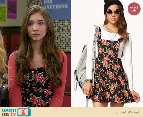 9cd28f7815c Riley s floral cross-back dress on Girl Meets World. Outfit Details  http