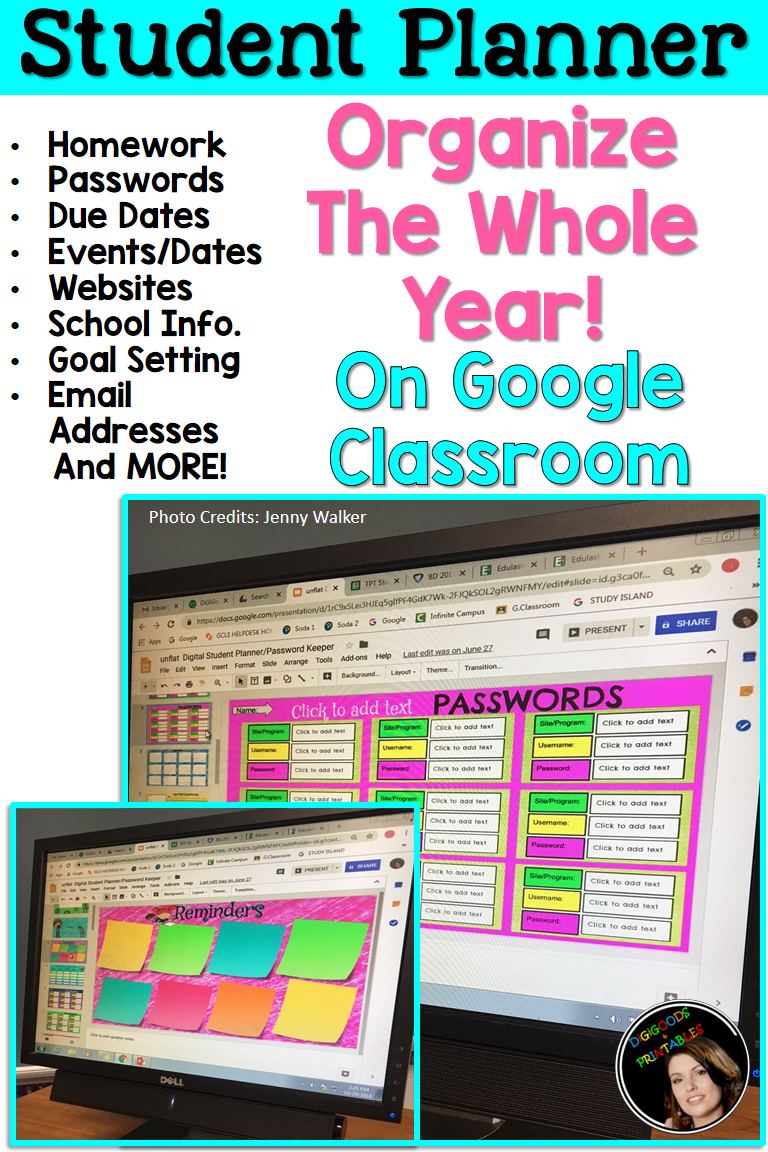 Student Planner At Home Learning Student planner, Google