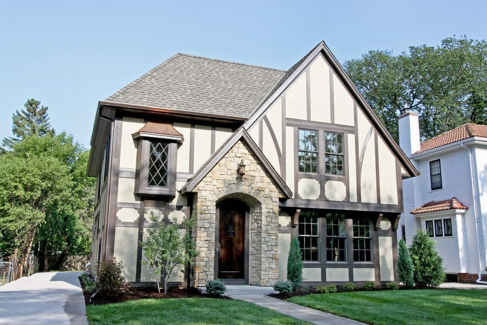 Change Tudor Style Exterior Traditional With In In 2020 Tudor Style Homes Tudor House Exterior House Exterior