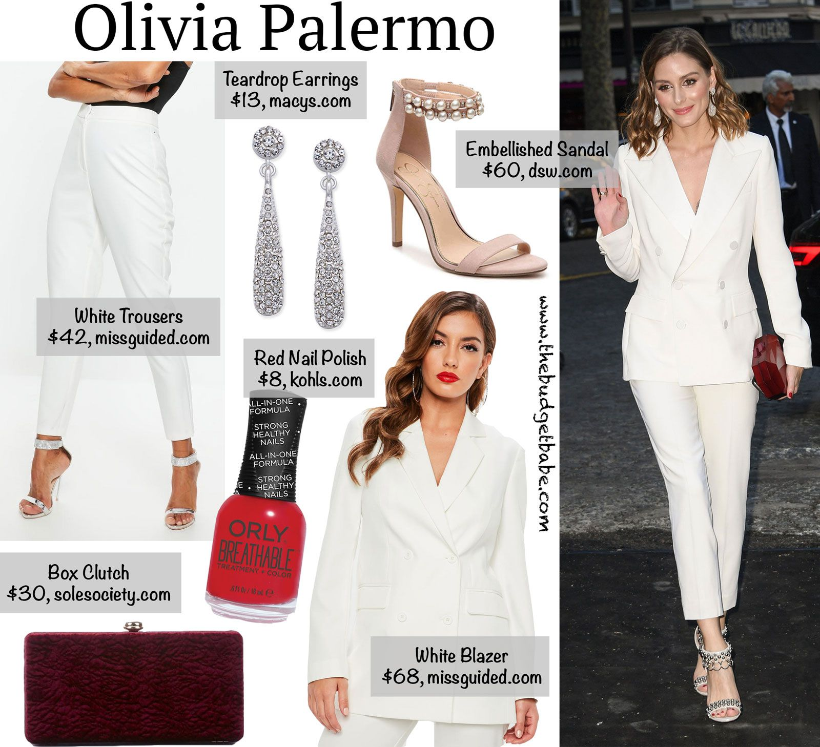 Palermo olivia get the look for less foto
