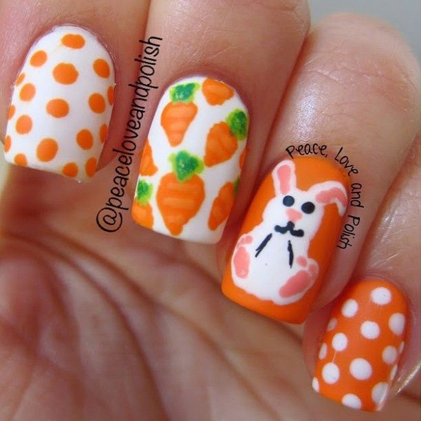 easter themed nails