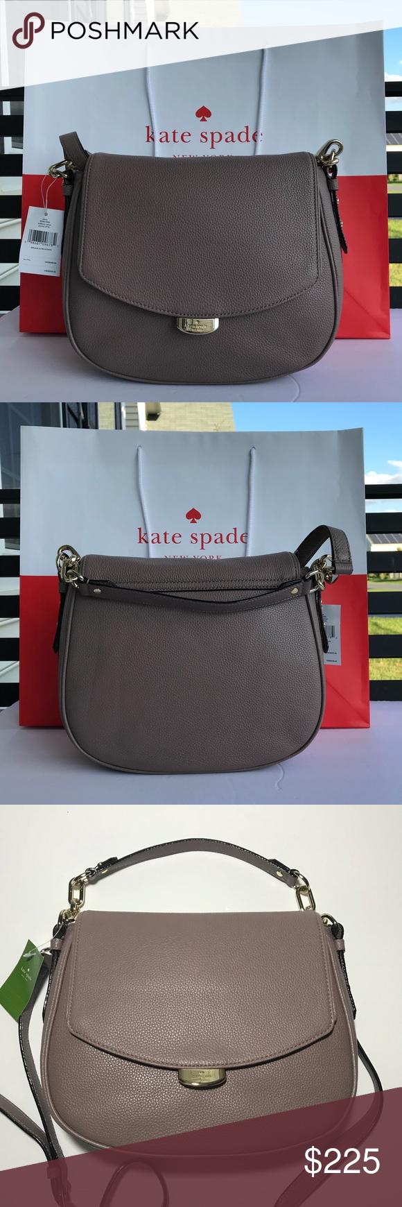 4121f9036d34 Nwt Kate Spade Alecia Mulberry Street Porcini New