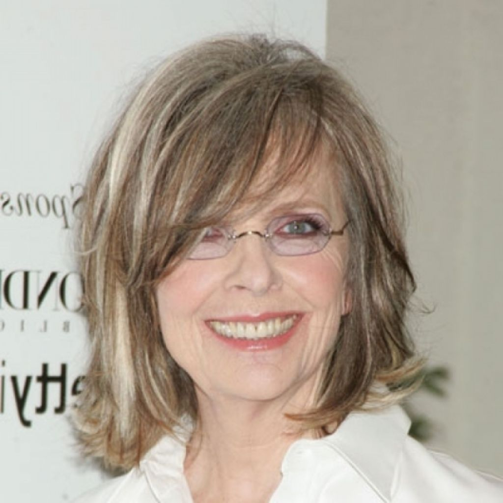 Medium Length Hairstyles With Glasses for Women Over 50