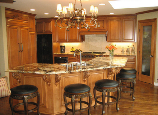 stunning natural maple kitchen cabinets | natural maple cabinets with granite - Google Search ...