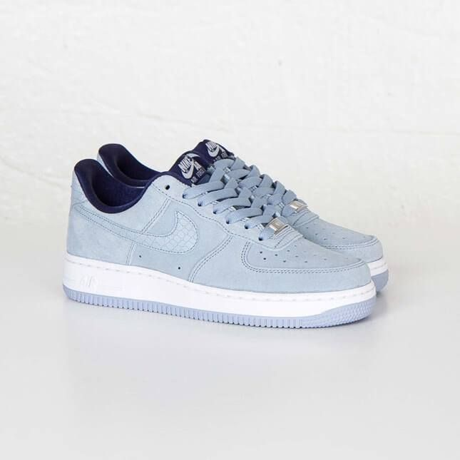 huge selection of 9079a 92266 Nike Air Force 1 07 Seasonal Blue Grey. Available now. http