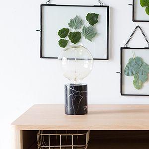 Its About Romi Accessoires.It S About Romi Citylight Athens Black Marble Desk Lamp