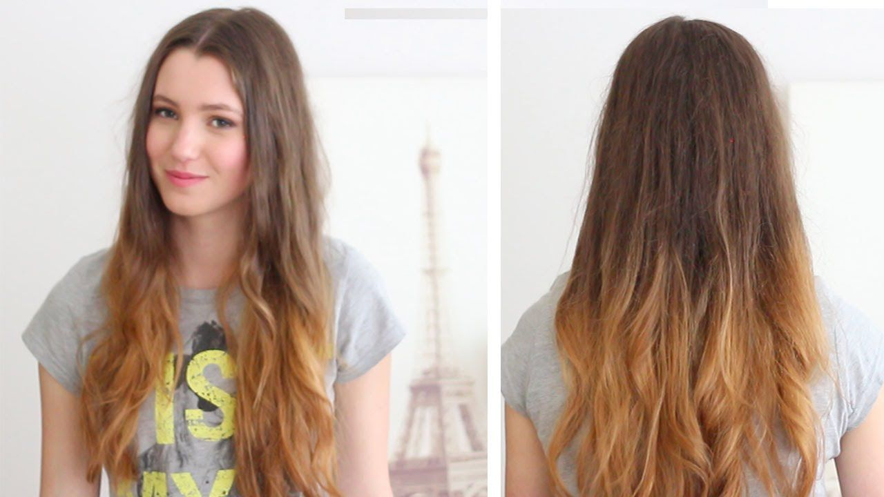 How To Ombre Your Hair At Home Diy Loreal Wild Ombre Kit Review How To Ombre Your Hair Light Hair Color Medium Blonde Hair